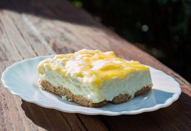 Hűsítő citromkrémes sajttorta