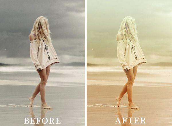 Photoshop tutorial...Vintage photography look with photoshop actions #art #photoshop #vintage