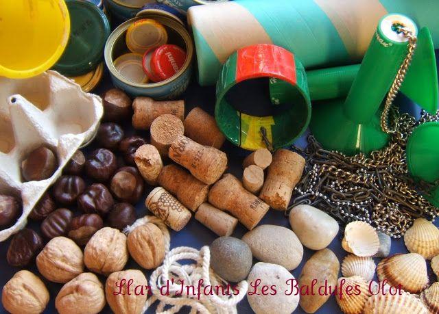 Material per el joc Heurístic. Llar d'infants Les Baldufes Olot. Girona
