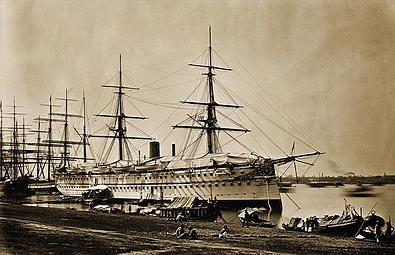 Royal Menus   Edward VII Christmas Banquet aboard HMS Serapis 1875