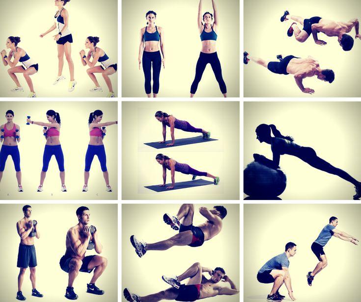 Rutina de ejercicios para bajar de peso en casa rutinas de ejercicio pinterest ejercicios - Ejercicios cardiovasculares en casa ...