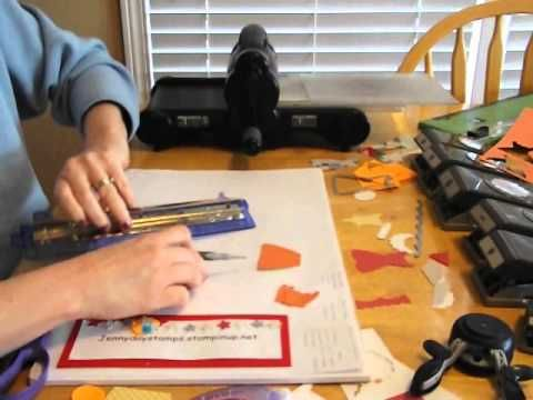▶ 5 Tips to use Punches in a whole new way-with Stampin Up's Dress Up Framelits - YouTube