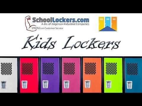 Kids Team Lockers with No Legs.  Cute for the mud room