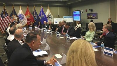 Opioid ED Meets with VA Secretary David Shulkin, Others from Trump Administration