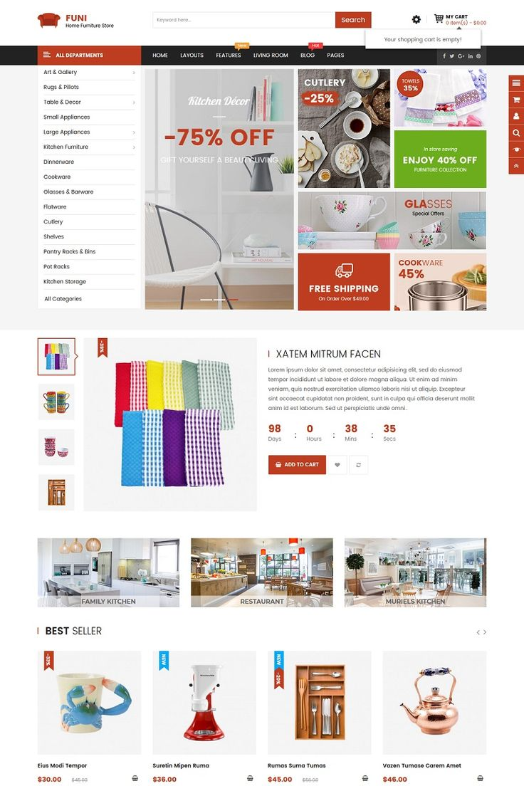 Come with a premium quality & advanced functionality, Funi OpenCart 3 theme is one of the best choice for decoration or interior stores.   #opencart #responsivedesign #furniture #interiordesign  https://www.templatemonster.com/opencart-templates/funi-furniture-opencart-template-67641.html