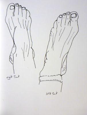 MHBD's Blog: My foot
