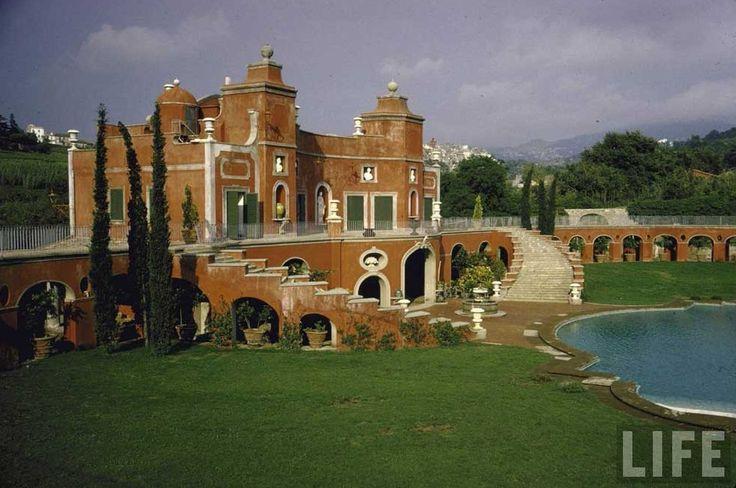 Sophia Loren's Villa near Rome via Tres Bohemes