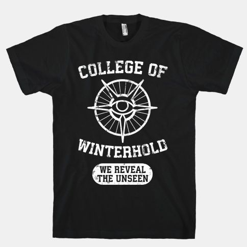 College Of Winterhold Pride   T-Shirts, Tank Tops, Sweatshirts and Hoodies  