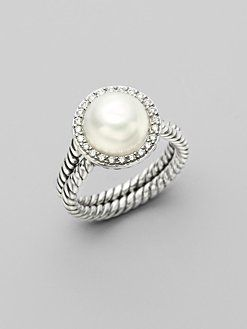 David Yurman pearl ring - LOVE!
