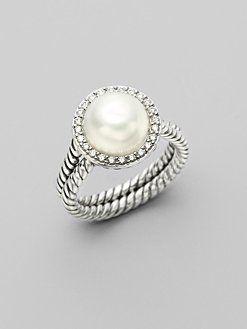 David Yurman pearl ring - please oh please : David Yurman, Birthday, Pearls Rings I, Pearl Rings, Diamonds, Yurman Pearls, Pearls Rings Lov, Pearls Rings Gorge, Jewelry