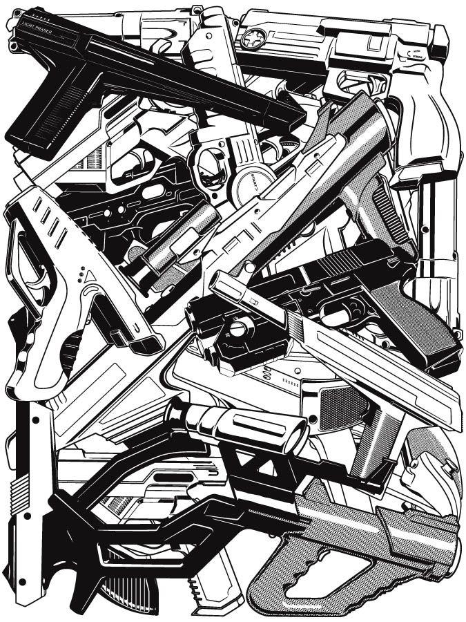 Yves-Jo Malgorn - Retrogaming - Light Guns