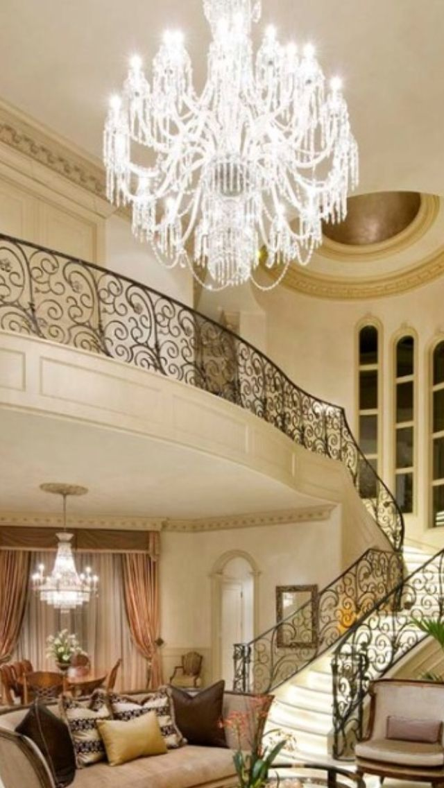 Luxury mansions mansion interior and mansions on pinterest for Living room 640x1136