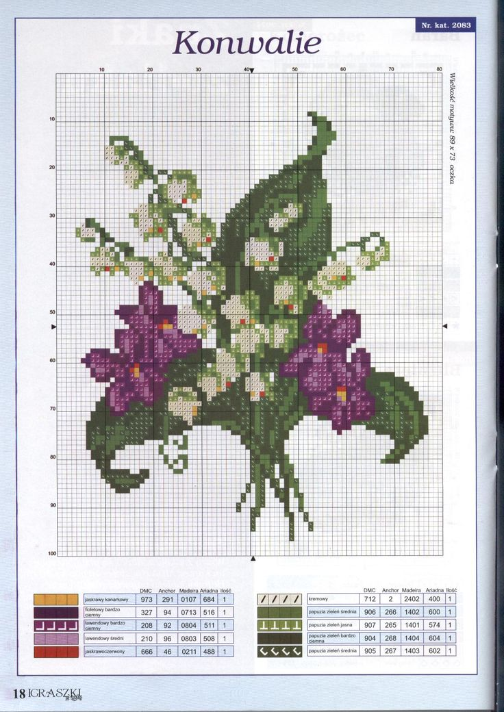 Lily of the valley & violets