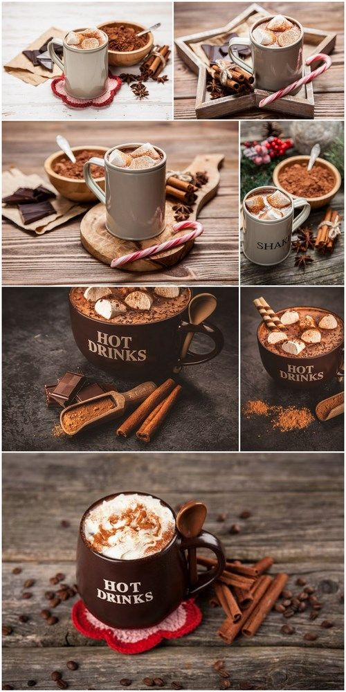 Cup of Hot Chocolate - 7 UHQ JPEG Stock Images