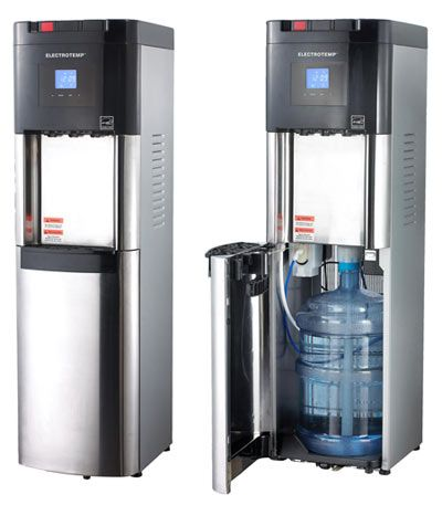 Pure County Bottled Water dispenser