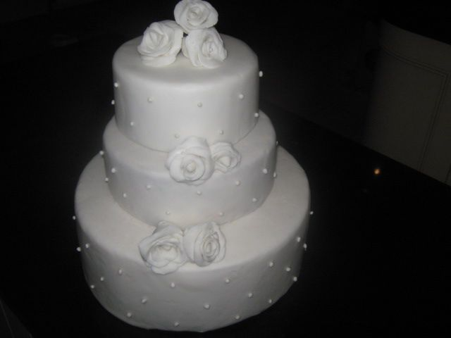 One of my own Cake .  FaceBook Cakes By Christine