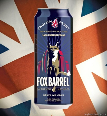 Crispin Fox Barrel English Perry: Cider With a Supeariority Complex 16oz Cans
