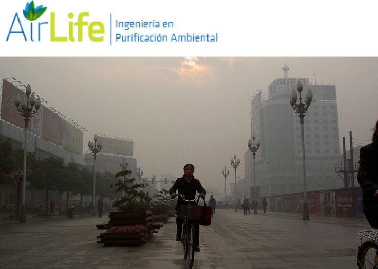 ¿Qué es la polución del aire? #airlife #aire #previsión #virus #hongos #bacterias #esporas #purificación  Airlife te informa que la polución del aire se compone de muchos tipos de gases, gotitas y partículas que reducen la calidad el aire. El aire puede estar contaminado tanto en la ciudad como en el campo. http://airlifeservice.com/