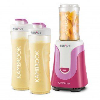 A gorgeous pink version of Kambrook's Blitz2Go Personal Blender