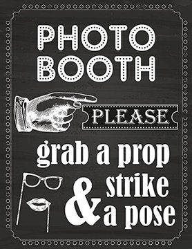 20 DIY Photo Booth Ideas DIY Ready                                                                                                                                                                                 More