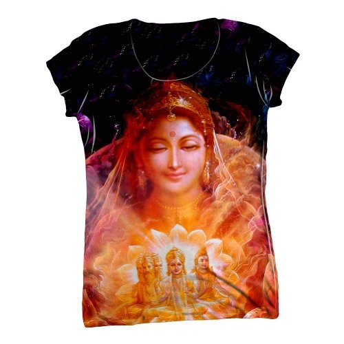 """""""India -""""Almighty Devi"""""""" shirt"""