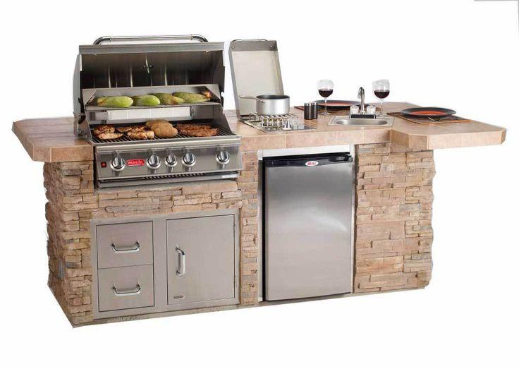 25 best ideas about outdoor island on pinterest outdoor for Bbq kitchen ideas