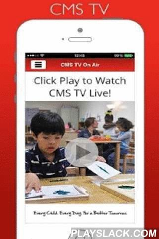 Charlotte Mecklenburg Schools  Android App - playslack.com ,  The CMS Mobile app allows students, staff, parents and community members to stay connected to events within Charlotte-Mecklenburg Schools. Stay in touch with news, lunch menus, student grades, social media, school calendars and more…all at the touch of a finger. Download the CMS Mobile app and take the information you need about your school district anywhere you go. Het CMS Mobile app kunnen studenten, medewerkers, ouders en leden…