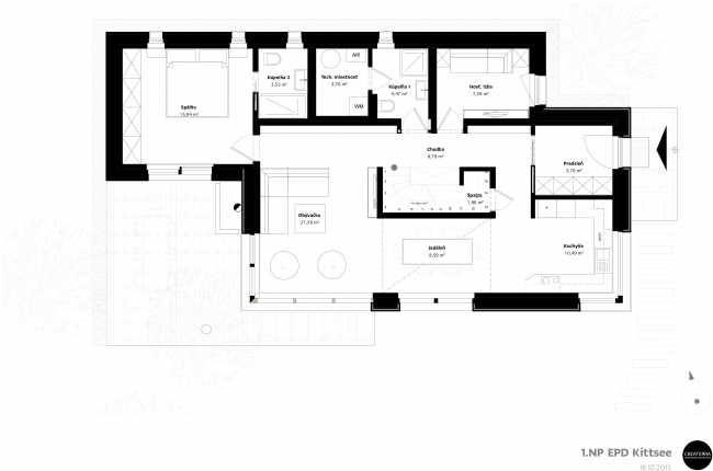 Pasívny dom v marhuľovom sade | Pasívne domy | Stavby | Architektúra | www.asb.sk