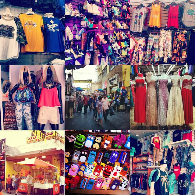 LA Fashion District: The Santee Alley