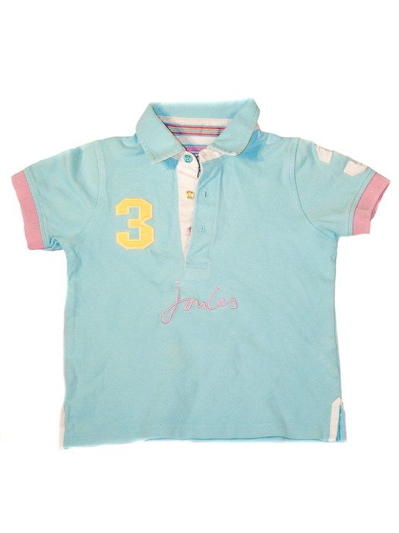 Joules kids Polo Shirt Classic Style Age 6