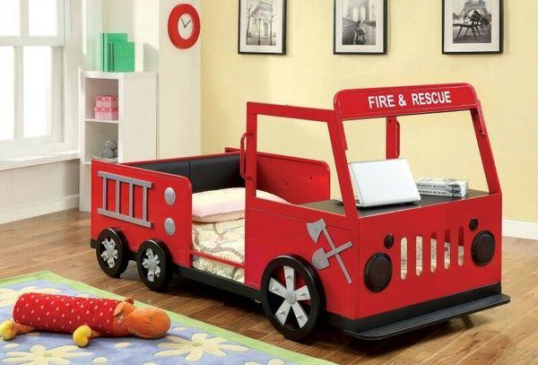 New fire rescue bed