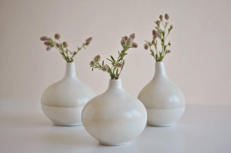 ❍ Porcelain calabash vases by Otchipotchi . April 2015