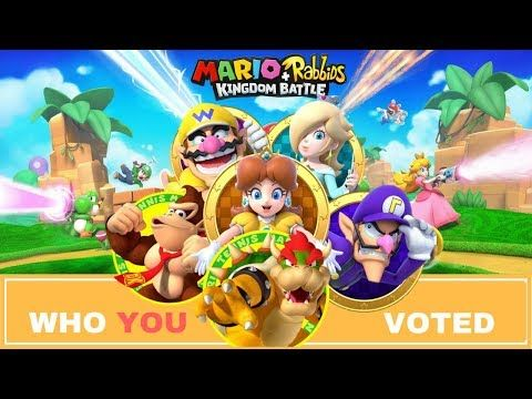 Here are the final results of the survey of Mario + Rabbids