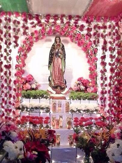Decoracion Para Altar De Virgen De Guadalupe ~ Altars and Cas on Pinterest