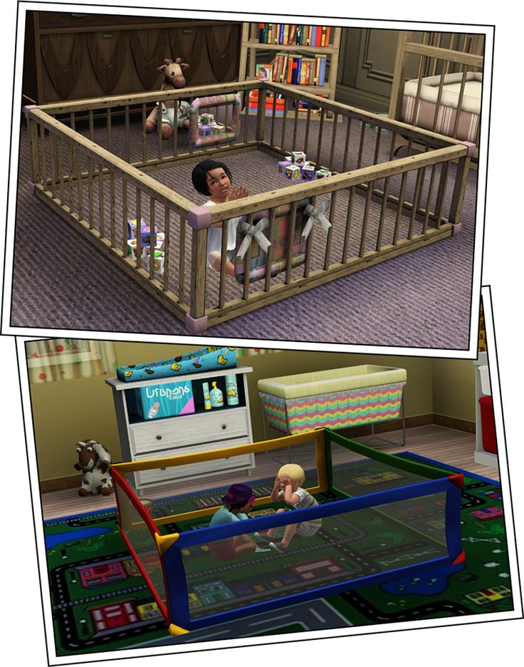 Around the Sims 3 | Custom Content Downloads| Objects | Kids | Playpens