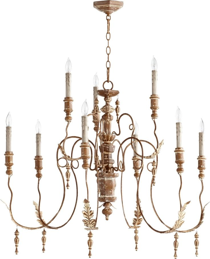 Best 25 french chandelier ideas on pinterest vintage chandelier 32 inchw salento 9 light chandelier french umber mozeypictures Images