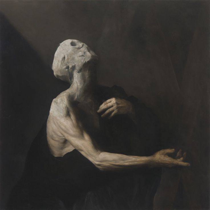 "Nicola Samori, ""L'Occhio Occidentale,"" 2013. Oil on copper."