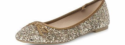 Dorothy Perkins Womens Bronze glitter round toe pumps- Brown We love these bronze multi-coloured glitter flat round toe ballerina pumps - the perfect way to add a glamorous edge to your look.- 100% Textile http://www.comparestoreprices.co.uk/womens-shoes/dorothy-perkins-womens-bronze-glitter-round-toe-pumps-brown.asp