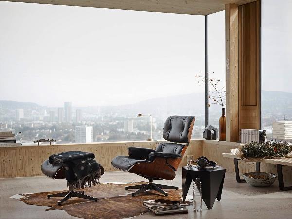 #Vitra #Eames #Lounge #Chair van mooi zacht #leer verkrijgbaar bij #Flinders #Flindersdesign #woonkamer #modern #klassiek #design