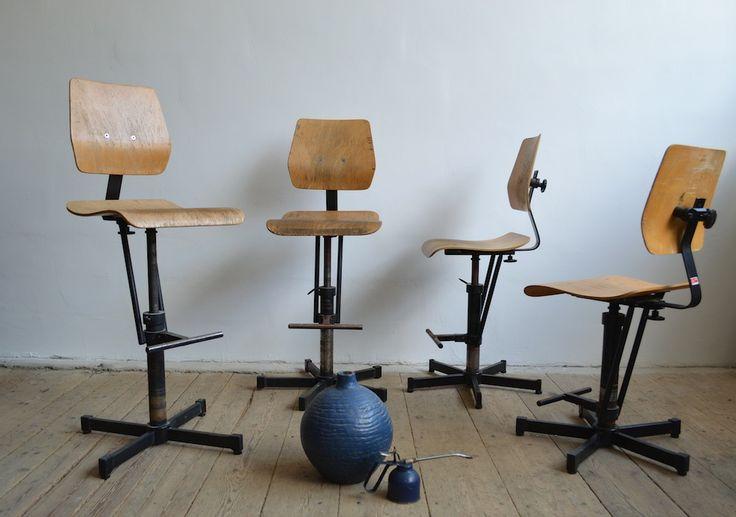 Vintage workshop chair by Bosch (artKRAFT Industrial design)