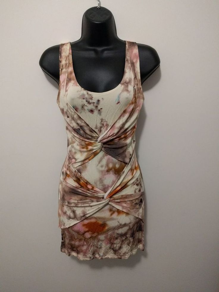 "preloved ""MINKPINK"" multi-coloured dress size XS in excellent condition in Clothing, Shoes, Accessories, Women's Clothing, Dresses 
