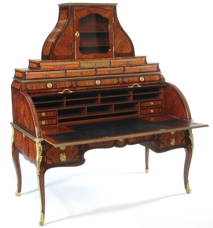 Bureau à cylindre et cartonnier | Les Arts décoratifs