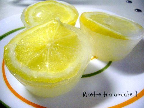 Cubetti di #ghiaccio al #limone