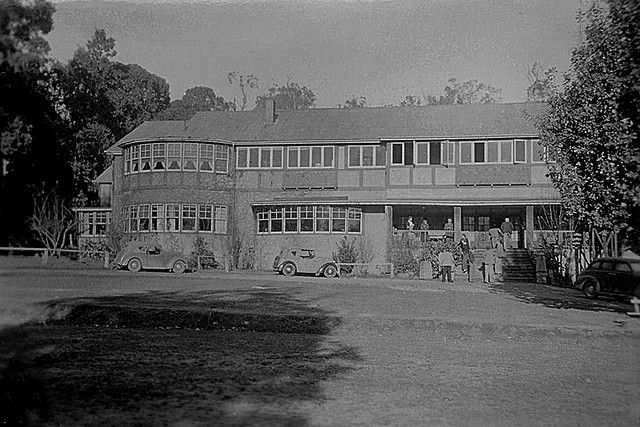 https://flic.kr/p/5Yzosv | Marylands 1947 | Marylands Country House, Marysville. Popular destination at the time for Honeymooners. Destroyed, along with the township of Marysville, this weekend as a result of bushfires.
