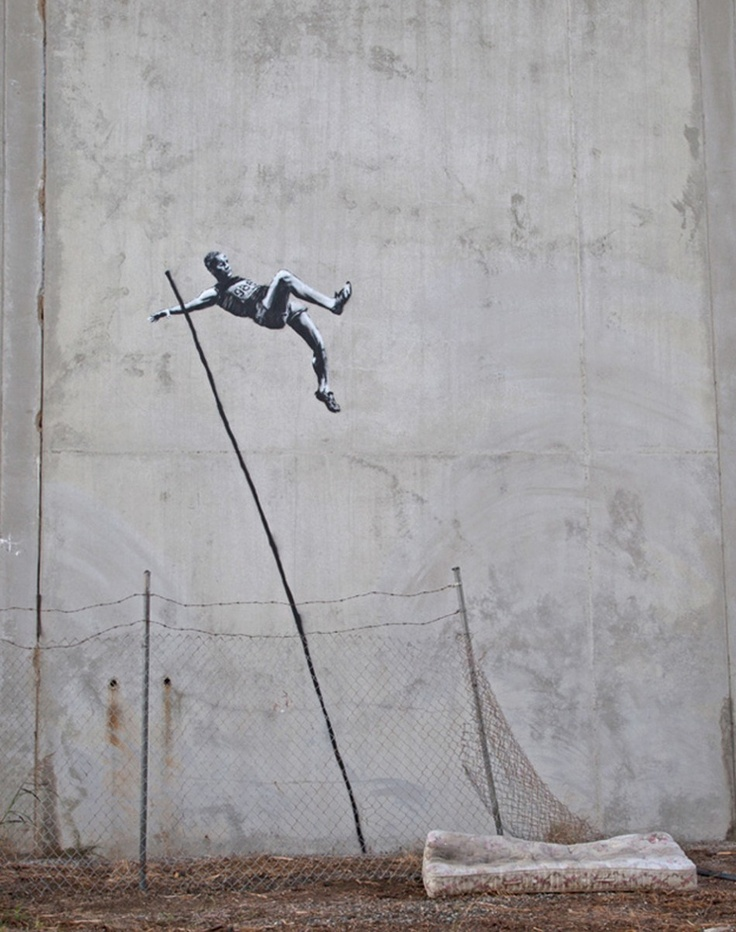 Banksy Celebrates The London 2012 Olympics With New Art [PHOTOS]