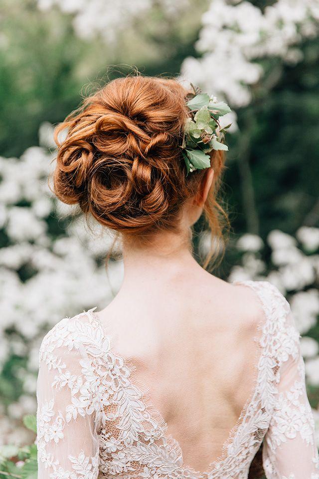 vintage bridal hair dos