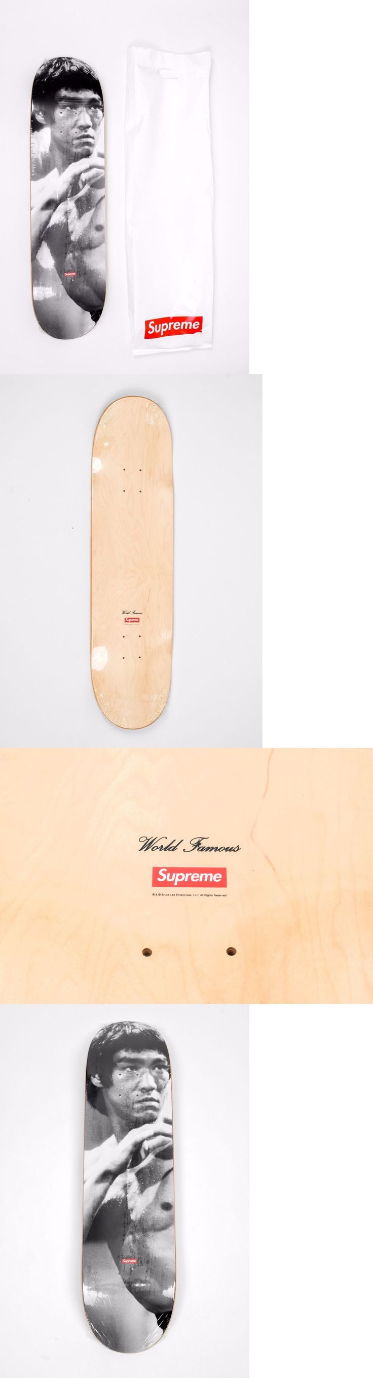 Decks 16263: New Supreme Fw13 Limited Edition Bruce Lee Skateboard Deck Red Box Logo + Bag Sb -> BUY IT NOW ONLY: $234.98 on eBay!