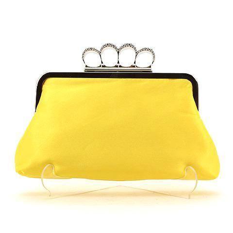 PASSION clutch in yellow. #mybetsonBetts #BettsRaceDayReady #BettsShoes