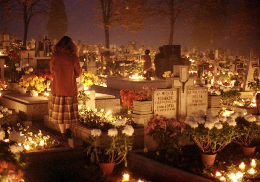 """All Souls Day Month of November Praying for the Souls in Purgatory And Visiting Cemeteries   """"We will all be there someday""""  www.finerfemininity.com"""