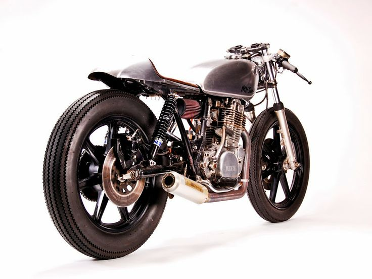 "Racing Cafè: Yamaha SR 500 1979 ""MHF004"" by MotoHangar"